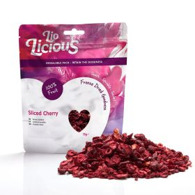 Freeze Dried Sliced Cherry Pouch
